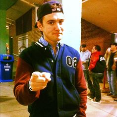 Emmit Cahill of Celtic thunder at Boston baseball game!!