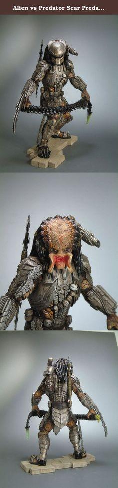 Alien vs Predator Scar Predator Artfx PVC Figure. Alien vs Predator Scar Predator Artfx PVC Figure.