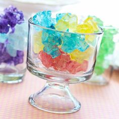 Rock Candy Chunks are perfect for a candy buffet
