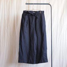 YAECA - Wide Pants #navy