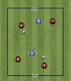Soccer Shooting Drills, Soccer Drills For Kids, Football Drills, Soccer Skills, Youth Soccer, Soccer Tips, Soccer Games, Soccer Coaching, Soccer Training