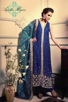 #dresses #dress #Partydresses Eid Dresses 2013 by Ayesha Hasan