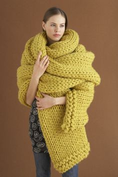 Free knitting pattern for Triple Play Scarf