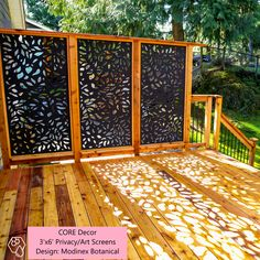 balcony privacy screen Turn your lights off! Core Glow Stones, Crystals, Powder, and Beads add nighttime illumination powered by the sun or any other light source for a glow that