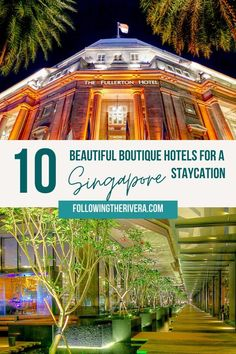 The ultimate Singapore staycation — 10 luxury boutique hotels Hawaii Travel, Asia Travel, Italy Travel, Travel Abroad, Solo Travel, Croatia Travel, Thailand Travel, Bangkok Thailand, Singapore Travel Tips