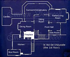 Halliwell manor second floor for the home pinterest for Charmed house blueprints