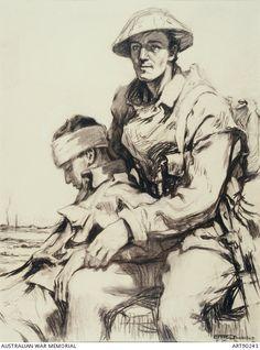 Hilda Rix Nicholas In France Military Art, Military History, Ww1 Art, Military Drawings, Art Themes, Australian Artists, Life Drawing, World War I, Art World