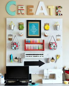 Top 13 Crafts Room Ideas - All about interesting and useful stuff