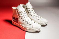 Powraca kolaboracja Comme des Garçons Play x Converse na modelu Chuck Taylor-7