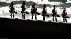 Super AWESOME Gif of Attack on Titan