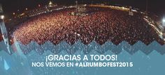 ALRUMBO Festival 2015 CARTEL HORARIOS ENTRADAS