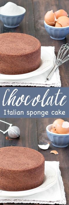 Best of Home and Garden: Chocolate Italian Sponge Cake