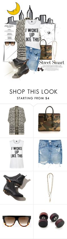 """""""Mini Me: Cute Skirts"""" by dawn-scott ❤ liked on Polyvore featuring MML, Joie, Yves Saint Laurent, Private Party, Mother and CÉLINE"""