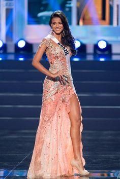 Vestido Miss Brasil