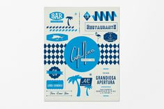 Deco Restaurant branding