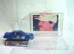 VINTAGE NASCAR ......TERRY LABONTE......#94 CAR AND CARD IN COLLECTORS CASE 1991 #RacingChampions