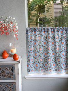 fancy plush design moorish tile curtain. Moroccan tile print kitchen curtain  tier Blue caf Saffron Marigold blue round tablecloth 70 90 inch