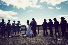 Beautiful setting for a country wedding ♥