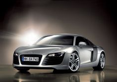 The Audi R8. Clayton told me about these today because one passed us driving and I missed it so I googled it. Daaaaaaaamn!