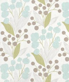Pretty floral Capparis Spa fabric  Love that it looks so light & breezy...use as curtains and pillows.maybe for office as accent pillows? Lighter shade than other post...LIKE BETTER FOR ACCENTS IN OFFICE!❤️❤️❤️