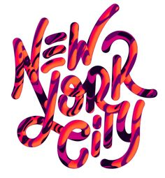 Stunning Typography Works by David McLeod | Abduzeedo Design Inspiration