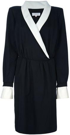 Tuxedo Dress - Lyst