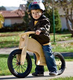 Birch Wood Balance Bike