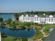 Elkhart Lake, WI - The Osthoff Resort has 500 feet of sandy access to pristine Elkhart Lake, plus sports, tennis, volleyball, even bonfires with s'mores.