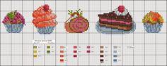Dmc blog: Charts Cross Stitch Gift: January