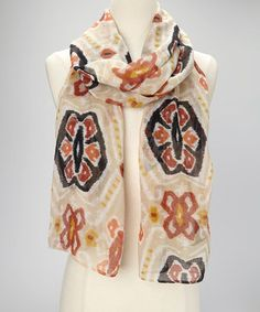 A scarf is the perfect way to round out a look while keeping shivers at bay. This beautifully woven accessory is perfect for looking poised and polished while driving with the top down, beating back beach breezes or just fending off office drafts!