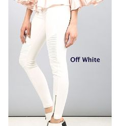 GroopDealz | Classic Motto Leggings - 6 Colors! Linen Bag, Linen Pants, Motto Leggings, Stretch Denim Fabric, Soft Shorts, Skinny Pants, Jeggings, Online Boutiques, White Jeans