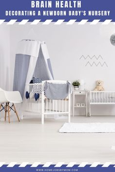 Brain Health: Decorating A Newborn Baby's Nursery: Decorating a newborn's nursery is one of the last times you'll be calling the shots. Here are some nursery wall decor ideas and benefits. Nursery Wall Decor, Nursery Art, Nursery Ideas, Newborn Nursery, One Bed, Floating Wall Shelves, Nursery Inspiration, Brain Health, Home Projects