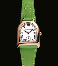 I think I must have…. Ralph Lauren Watches & Jewelry The Ralph Lauren Stirrup Watch from Ralph Lauren Equestrian Timepiece Collection. Explore Now
