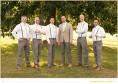 Groomsmen photo not so formal