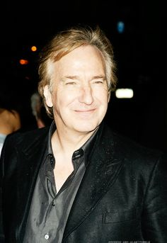 First Bowie and now Alan Rickman?! Knock it off, Universe! We need some of the good ones left here on Earth! *weeps*