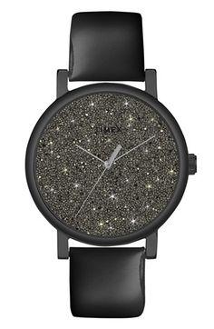 Timex® 'Crystal Sky' Pavé Dial Watch, 38mm   Nordstrom