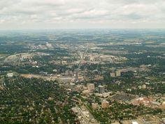 Waterloo seen from Kitchener