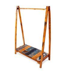 EcoChic Lifestyles Lifeline Reclaimed Wood Clothing Rack