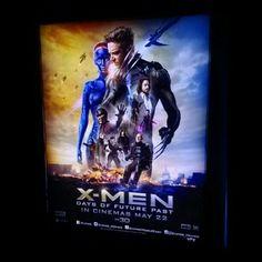 X-Men Movies are My Best Movies Ever ♥ @X-Men Days of Future Past @empire_movies #XMenMovies #XMenDaysOfFuturePast #XMen #Wolverine #ProfessorX #Magneto #Mystique #Storm #Beast #Rogue #KittyPryde #Trask #Iceman #Bishop #Colossus #Quicksilver #Blink #Sunspot #Warpath #WilliamStryker #Havok #Marvel #Superhero #VoxCinemas #VoxCinema #MarinaMall #AbuDhabi #UAE