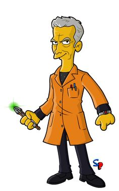 Springfield Punx: 12th Doctor, the Caretaker!