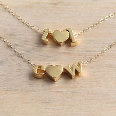 9239adec67a6 25 Best Alphabet Necklaces images in 2019