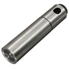 ราคาถูก  Moonar สเตนเลสมะกอกขวดปั๊มฉีดน้ำมันหรอกครับหัวฉีดหม้อต้มเครื่องมือทำอาหาร  ราคาเพียง  235 บาท  เท่านั้น คุณสมบัติ มีดังนี้ &100% brand new and high quality. &Made of high quality stainless steel---durable andhealthy. Perfect for spraying ingredients when roasting, sauteing,bakingor cooking. &Help to control the amount of olive oil used in cookingavoiding waste.