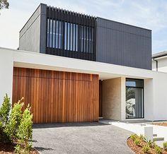 Villa Design, Facade Design, House Design, Australian Houses, Australian Architecture, House Cladding, Facade House, Arch House, Dream House Exterior
