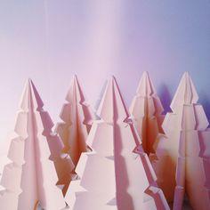 Xmas tree origami by Coco Sato
