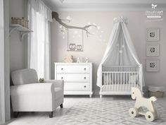Baby Nursery Decor: White Pictures Of Baby Nurseries Bed Themes Interiorish Stunning Classic Simple Ribbon Alphabet, breathtaking pictures of baby nurseries rooms gallery Pictures of Boy Nursery Rooms Newborn Nursery Pictures Baby Room Pictures Baby Nursery Neutral, Baby Nursery Decor, Nursery Design, Baby Decor, Owl Nursery, Gender Neutral Nurseries, Nursery Room Ideas, Disney Nursery, Nursery Furniture