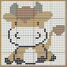 Thrilling Designing Your Own Cross Stitch Embroidery Patterns Ideas. Exhilarating Designing Your Own Cross Stitch Embroidery Patterns Ideas. Cross Stitch Cow, Beaded Cross Stitch, Cross Stitch Animals, Cross Stitch Charts, Cross Stitch Embroidery, Embroidery Patterns, Crochet Diagram, Crochet Chart, Modern Cross Stitch Patterns