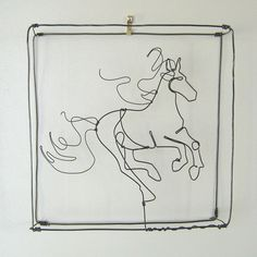 Horse Galloping Wire