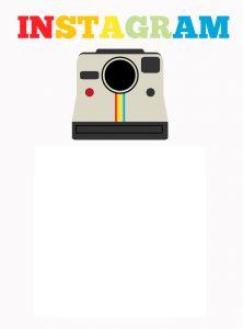 Free Instagram Frame Card