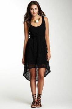 S.H.E. Lace Hi-Lo Dress