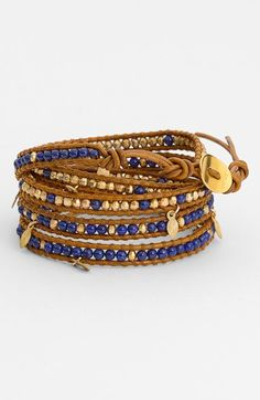 Chan+Luu+Beaded+Wrap+Bracelet+available+at+#Nordstrom